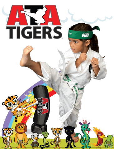 ATA Martial Arts Woodbridge Blackbelt Academy - ATA Tigers